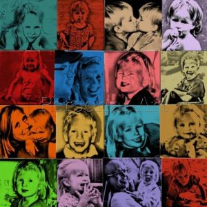 Fotocollage Pop-Art