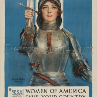 Jane of Arc US Poster